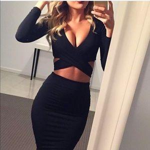 Sexy Crop Dress